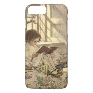 Vintage Child Reading a Book, Jessie Willcox Smith iPhone 8 Plus/7 Plus Case