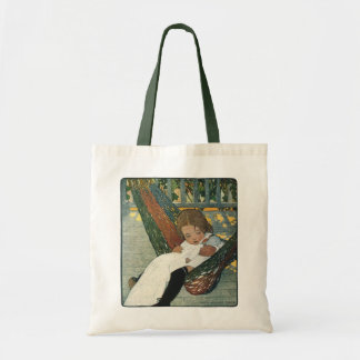 Vintage Child with a Doll by Jessie Willcox Smith Tote Bag