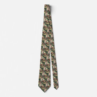 Vintage Children Play Pin the Tail on the Donkey Neck Tie