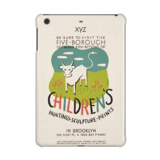 Vintage Children's Art custom cases iPad Mini Retina Case