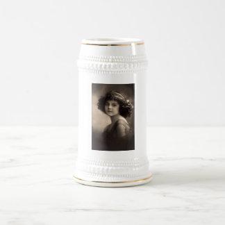 Vintage Children's Portraits Beer Stein