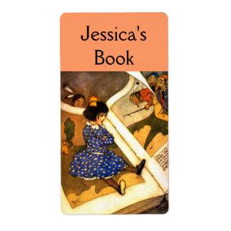 Vintage Children's Bookplate