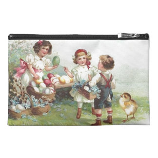 Vintage Children's Holiday Easter Party Bagettes Travel Accessories Bag