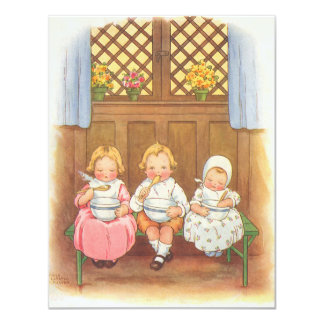 Vintage Childrens Nursery Rhyme Invitation