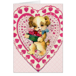 Vintage Children's Valentine Card