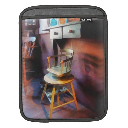 Vintage Child's Barber Chair Sleeve For iPads