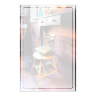Vintage Child's Barber Chair Stationery