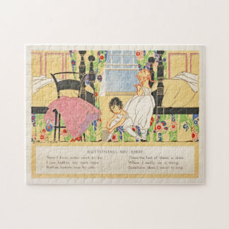 Vintage Child's Storybook Puzzle