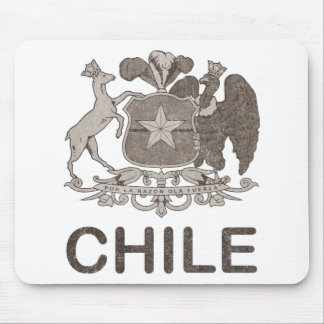 Vintage Chile Coat Of Arms Mouse Pad