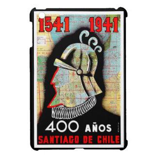 Vintage Chile Santiago Travel iPad Mini Cover