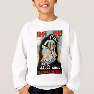 Vintage Chile Santiago Travel Sweatshirt