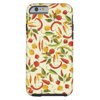Vintage Chili Peppers Tough iPhone 6 Case