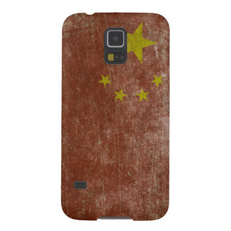 Vintage China Flag Galaxy S5 Cover