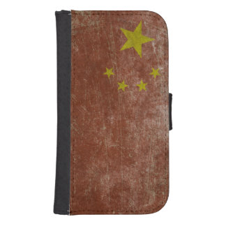 Vintage China Flag Phone Wallets