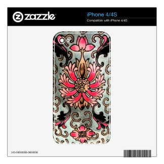 Vintage China iPhone 4S Decals