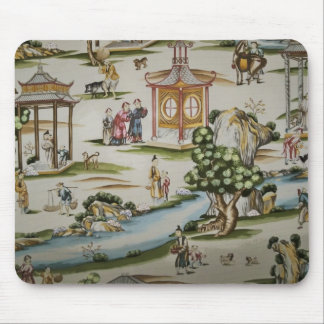 Vintage China Toile scene Mouse Pad