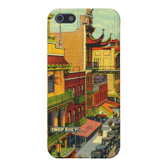 Vintage Chinatown  Case For iPhone SE/5/5s