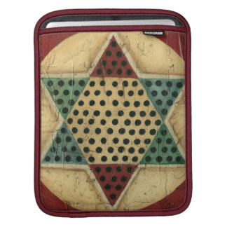 Vintage Chinese Checkerboard by Ethan Harper iPad Sleeve