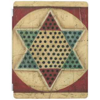 Vintage Chinese Checkerboard by Ethan Harper iPad Smart Cover