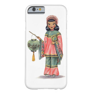 Vintage Chinese Doll Barely There iPhone 6 Case