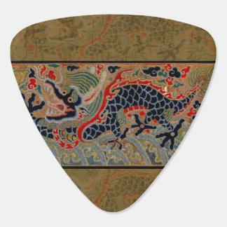 Vintage Chinese Dragon Art Tapestry Artwork Guitar Pick