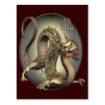 Vintage Chinese Dragon Post Cards