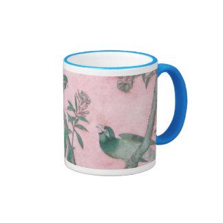 Vintage Chinese Floral Coffee Mug