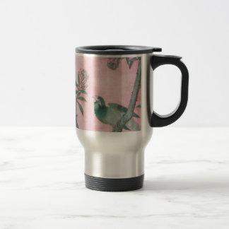 Vintage Chinese Floral Mug