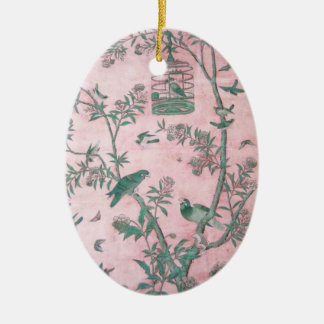 Vintage Chinese Floral Ornament
