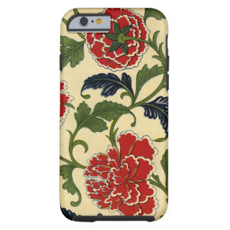 Vintage Chinese Flower Vine Tough iPhone 6 Case