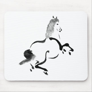 Vintage Chinese Horse Mouse Pad