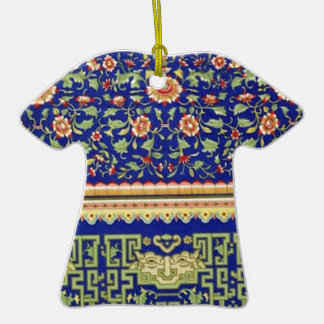 Vintage Chinese Ornamental Art Christmas Ornament