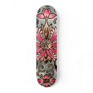 Vintage Chinese skateboard