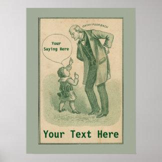 Vintage Chiropractic Advertising Poster