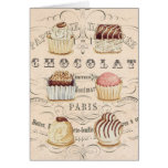 Vintage Chocolat...notecard Greeting Cards