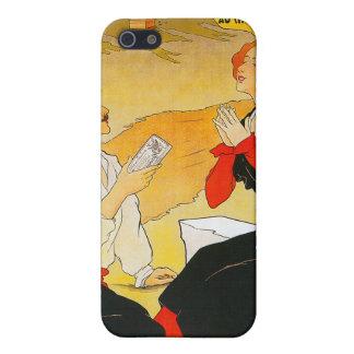 Vintage Chocolat Vincent Ad iPhone SE/5/5s Case
