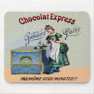 Vintage Chocolate Advertising Cooking Mousepads