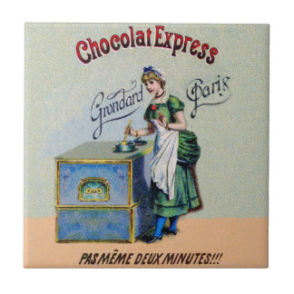 Vintage Chocolate Advertising Cooking Tile