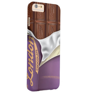 Vintage Chocolate Bar Unwrapped Barely There iPhone 6 Plus Case