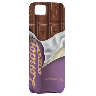 Vintage Chocolate Bar Unwrapped iPhone SE/5/5s Case