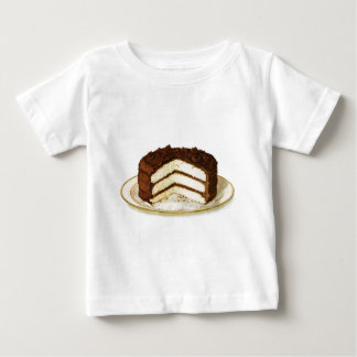 Vintage Chocolate Iced Layer Cake Infant T-shirt
