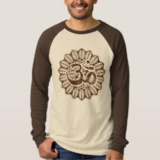 Vintage chocolate Om T-shirt