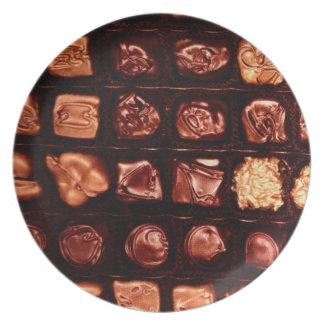 Vintage Chocolates Sweet Shop Melmac Dinner Plate