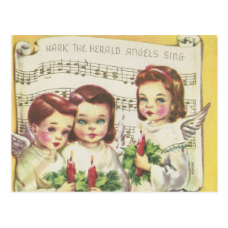 Vintage Choir Christmas Card
