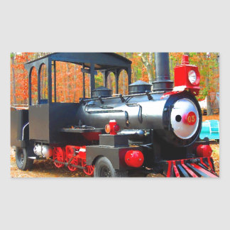 Vintage Choo Choo Truck Junkyard Fun Rectangle Sticker