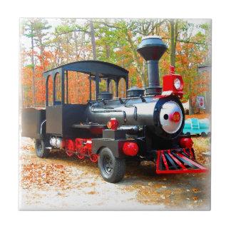 Vintage Choo Choo Truck Junkyard Fun Tiles