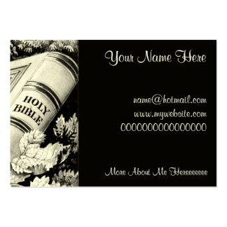 Vintage Christian Art Time is Precious 1872 Large Business Cards (Pack Of 100)