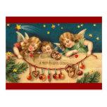 Vintage Christmas - Angel Children Post Cards