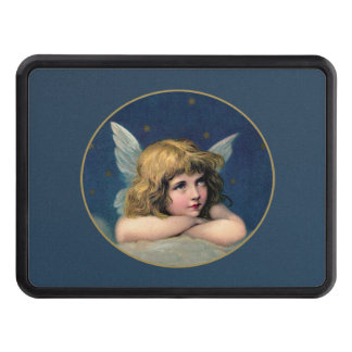 Vintage Christmas Angel Hitch Cover