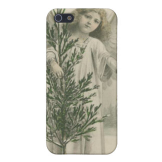 Vintage Christmas Angel Covers For iPhone 5